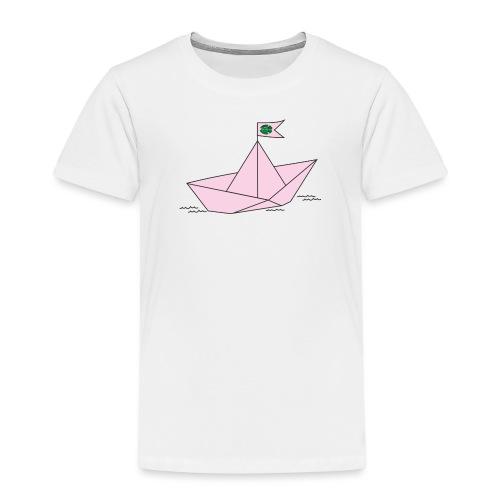 Schiffchen rosa - Kinder Premium T-Shirt