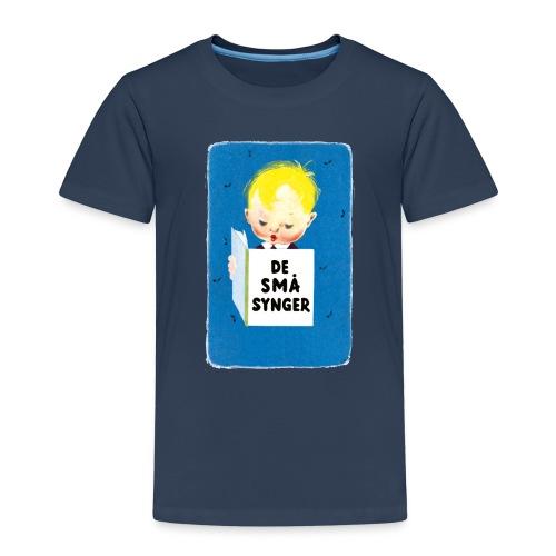 DE SMAA SYNGER_ logo til - Børne premium T-shirt