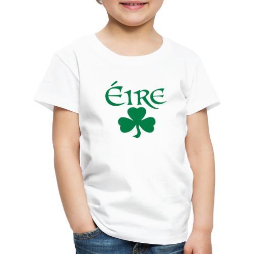 Eire Shamrock Ireland logo - Kids' Premium T-Shirt