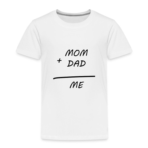 Mom Dad me - Kinder Premium T-Shirt