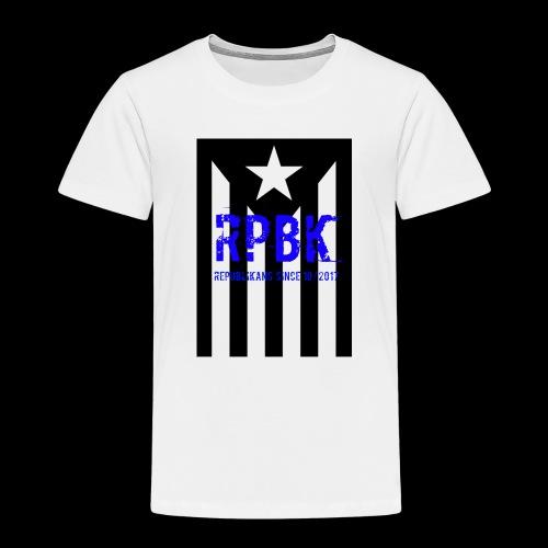 Nuestro logo RPBK - Camiseta premium niño