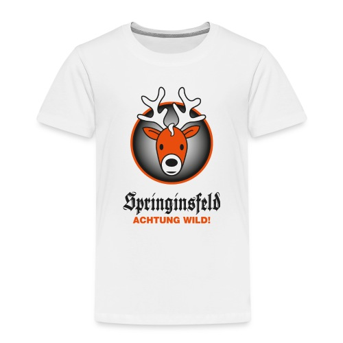 Achtung wild! for white - Kinder Premium T-Shirt