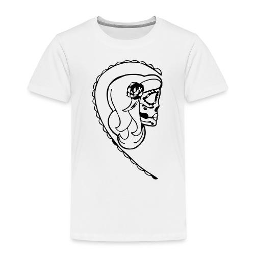 HER SUGAR SKULL - Kids' Premium T-Shirt