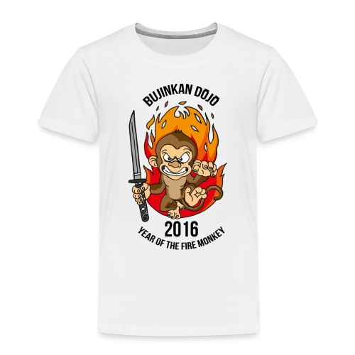 Fire monkey - Kids' Premium T-Shirt
