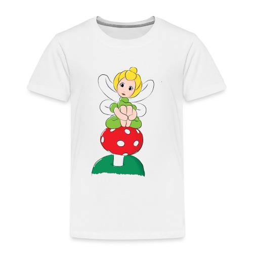 Balloon Fairy & Toadstool - Kids' Premium T-Shirt
