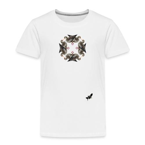 'Goose Circle' by BlackenedMoonArts - Børne premium T-shirt