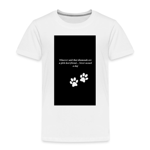 Hundliv - Premium-T-shirt barn