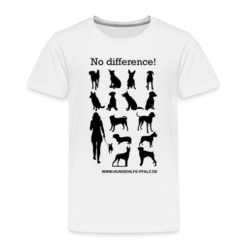 no difference - Kinder Premium T-Shirt
