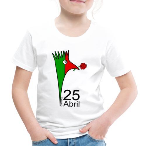 Galoloco - 25 Abril - T-shirt Premium Enfant