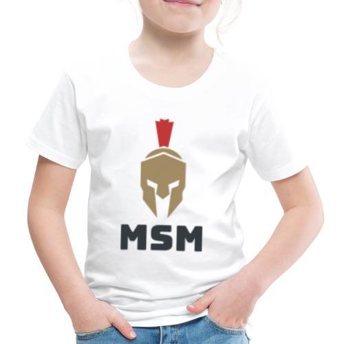 MSM Warrior - Børne premium T-shirt