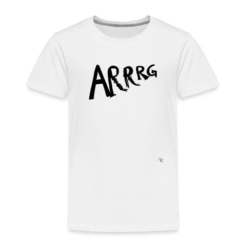 Arrg - Maglietta Premium per bambini