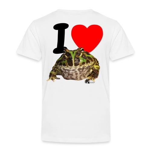 ilovepacman png - Kinder Premium T-Shirt
