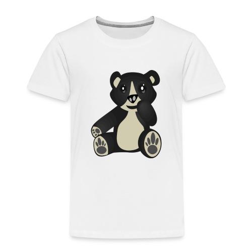 Baby Bear Kind Cartoon - Kinder Premium T-Shirt