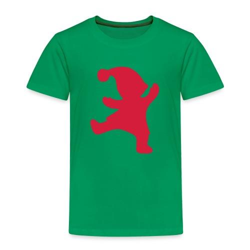 Santas helper - Lasten premium t-paita