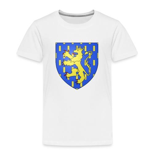 Blason de la Franche-Comté avec fond transparent - T-shirt Premium Enfant