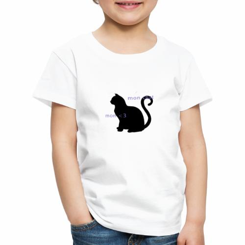 Mon Chat Mon <3 - T-shirt Premium Enfant