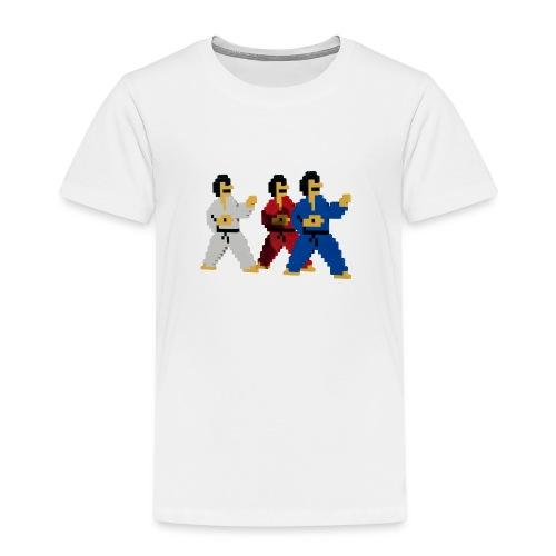 8 bit trip ninjas 1 - Kids' Premium T-Shirt