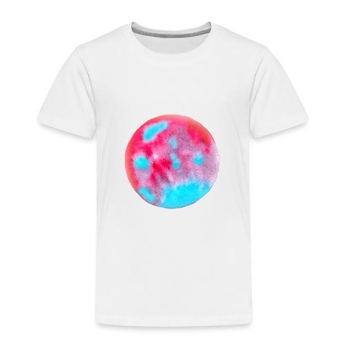Kunstvolles kreisförmiges Design - Kinder Premium T-Shirt