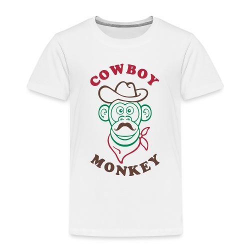 Cowboy monkey - T-shirt Premium Enfant