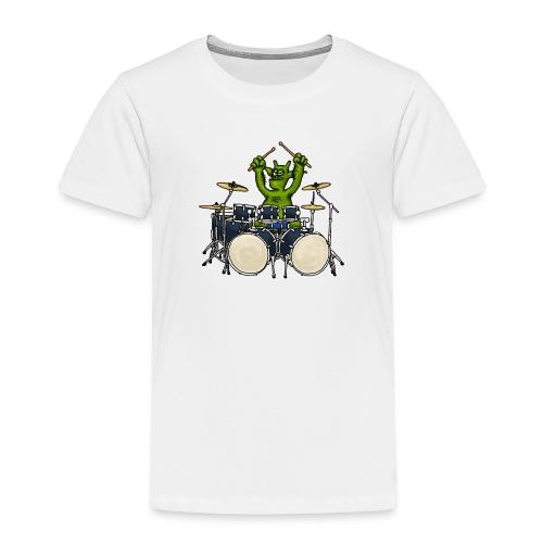 Kobold Drummer - Kids' Premium T-Shirt