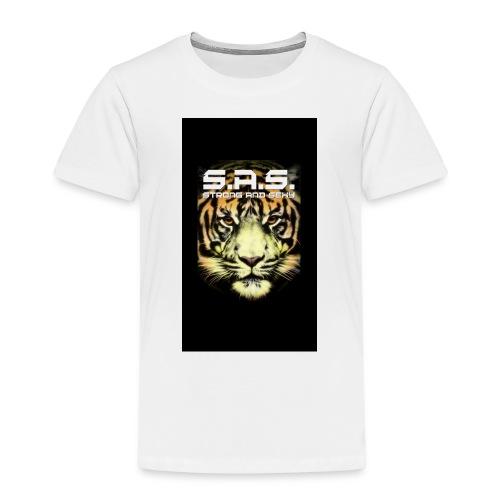 sas tiger wide jpg - Kinderen Premium T-shirt