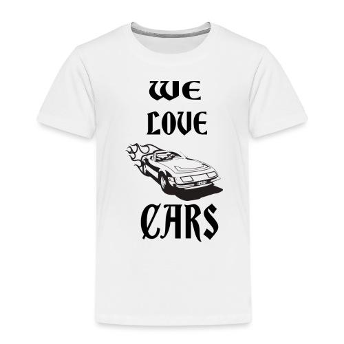 auto fahrzeug garage - Kinder Premium T-Shirt