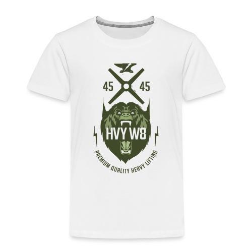 HVYW8_Logo_Bear - Kids' Premium T-Shirt