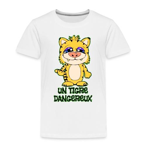 Un tigre dangereux - T-shirt Premium Enfant