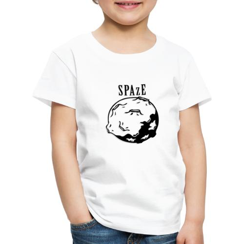 SPAzE w/ Text - Premium-T-shirt barn