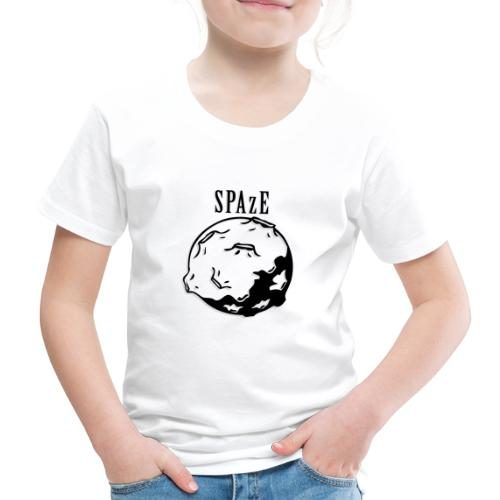 SPAzE w/ Text - Premium-T-shirt barn