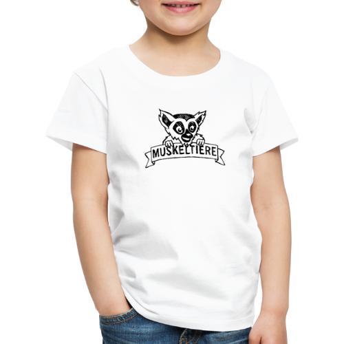 MUSKELTIERE_Logo_black - Kinder Premium T-Shirt