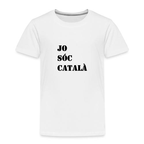 JO SOC CATALA - Camiseta premium niño