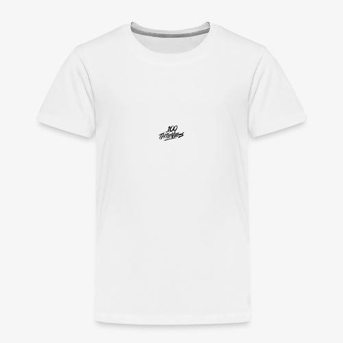 100 Thieves (White Collection) - Kids' Premium T-Shirt