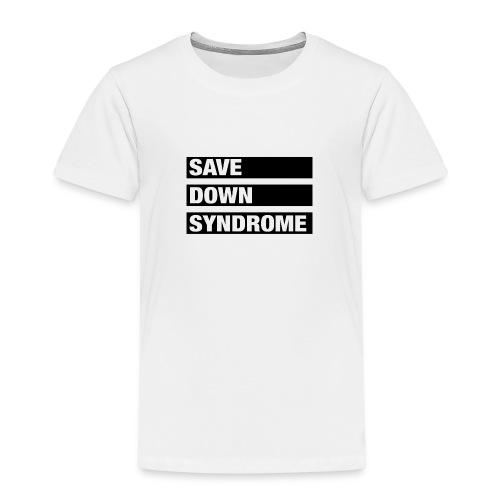 Save Down Syndrome - Kids' Premium T-Shirt