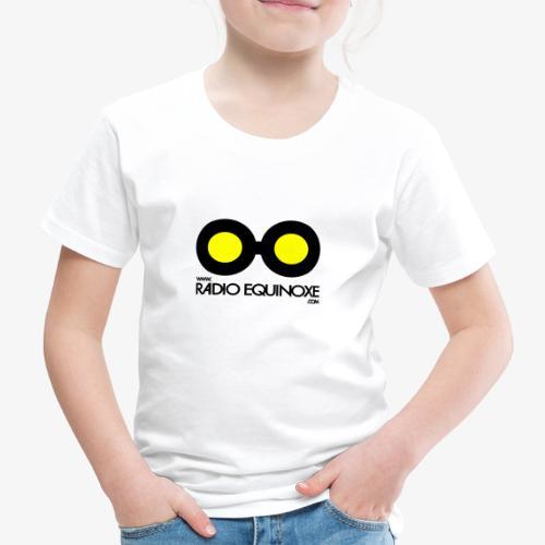 Logo Radio Equinoxe Noir - T-shirt Premium Enfant