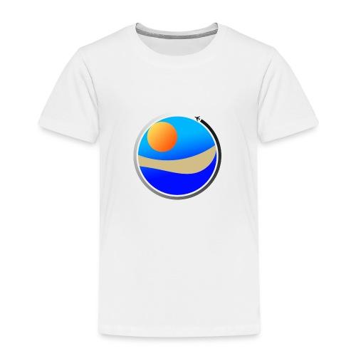 Travel Life 1 - Premium T-skjorte for barn
