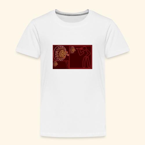 Dartblack Ge b1 - Kinder Premium T-Shirt