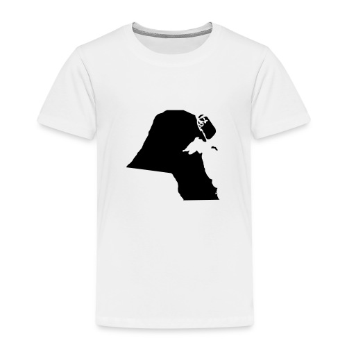 Kuwait Map - Kinder Premium T-Shirt