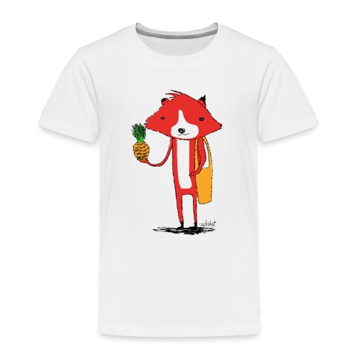 Ananasfüchslein - Kinder Premium T-Shirt