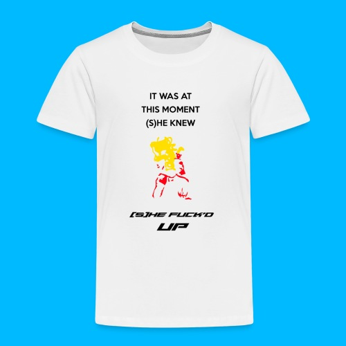 Fucked Up PAUL PHOENIX Manches longues - T-shirt Premium Enfant