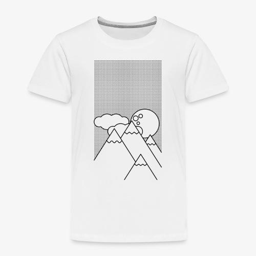 Bergen in de Nacht - Kinderen Premium T-shirt