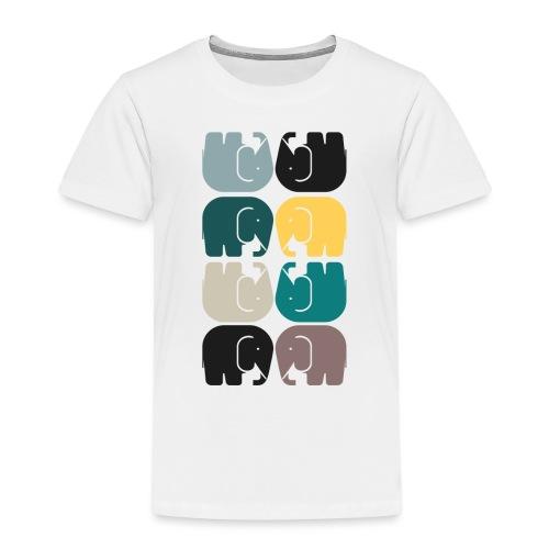 elefanterna - Premium-T-shirt barn