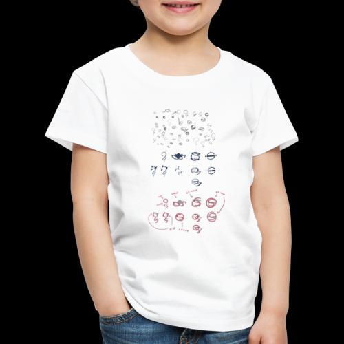 Overscoped concept logos - Kids' Premium T-Shirt
