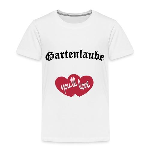 Gartenlaube Logo - Kinder Premium T-Shirt