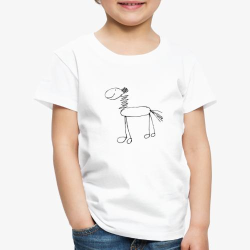 horse1 - Koszulka dziecięca Premium