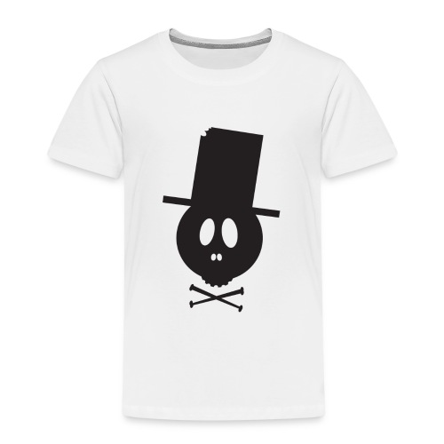 Bonehead Black Shirt Woman - Kinder Premium T-Shirt
