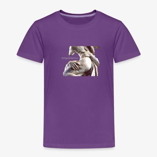 #OrgulloBarroco Rapto difuminado - Camiseta premium niño