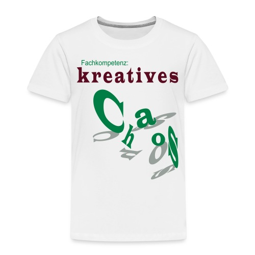 kreatives Chaos - Kinder Premium T-Shirt