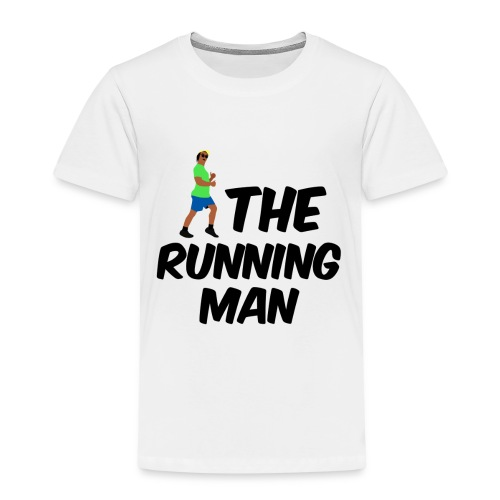 The Running Man Light Blue Short - Kids' Premium T-Shirt