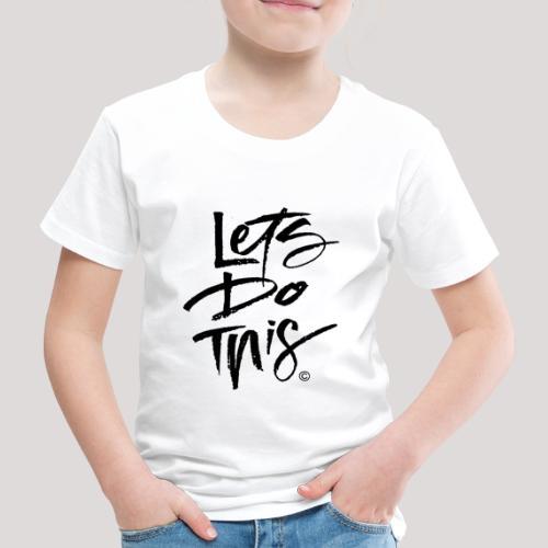 LDT Clear MASTER BLK - Kids' Premium T-Shirt